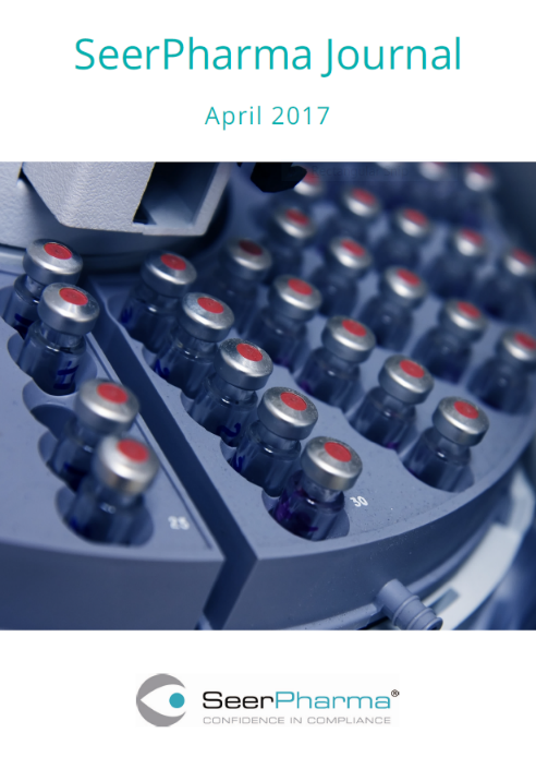 SeerPharma Journal Front Cover April 2017